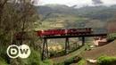 Atravesando Ecuador en tren   DW Documental