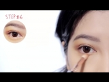 CUTE_EDGY VALENTINE'S DAY MAKEUP TUTORIAL_heart_