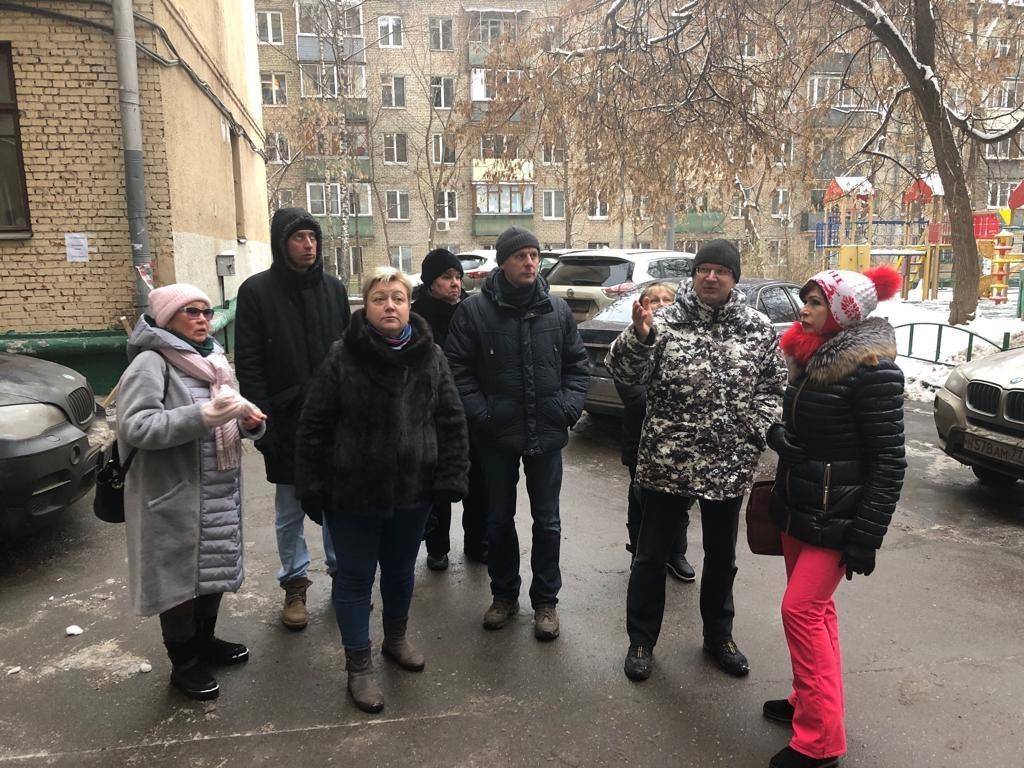 Глава управы Александр Шнурков посетит «проблемные» дворы в Савеловском
