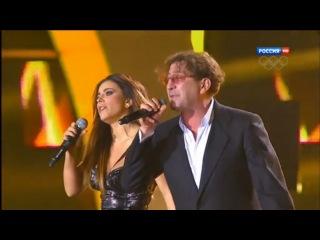 Ани Лорак и Григорий Лепс - Зеркала (Песня года 2013) HD 01 01 2014