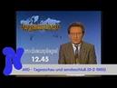 ARD - Tagesschau und sendeschluss (9-2-1985)