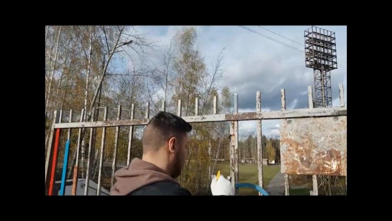 общественники покрасили вход на стадион Ураласбест » Freewka.com - Смотреть онлайн в хорощем качестве