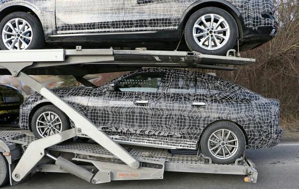 Опубликованы первые фотографии нового электрокара BMW i4.