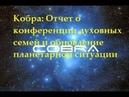 Кобра: Отчет о конференции Духовные семьи и обновление планетарной ситуации