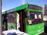 Новый инцидент с городским автобусом МАЗ в Гомеле