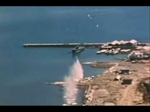 WWII Japanese Coast Ships Aerial Attacks GunCam