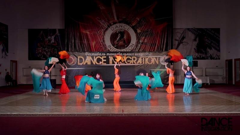 Dance Integration 2018 350-Огонь и Вода, Драгоценность Печора