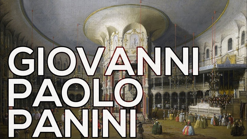 Giovanni Paolo Panini: A collection of 134 paintings (HD)