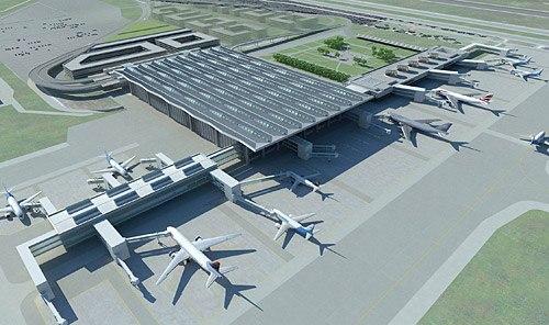 Новый терминал аэропорта Пулково готов на 90% Новый терминал аэропорта Пулково, который строится в районе...