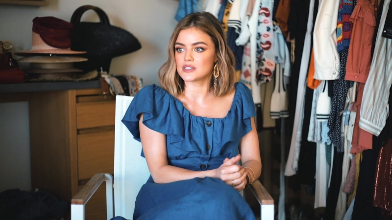 20 Questions with Lucy Hale and Modeliste Magazine