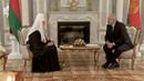 15.10.2018 Патриарх Кирилл встретился с Президентом Республики Беларусь А.Г. Лукашенко