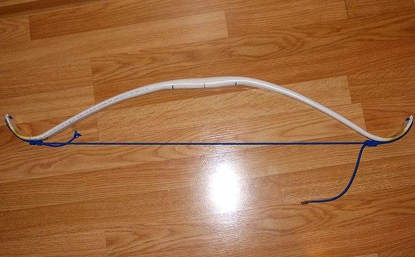 Композитный лук из пвх трубы своими руками