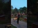 Свеча памяти в сквере им. Фёдора Полетаева