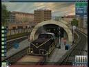 Trainz Simulator 2012. Ночные покатушки в метро на тепловозе.