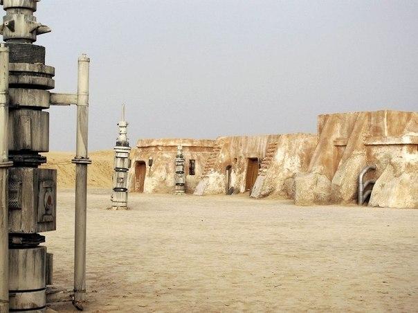 """В Тунисе сохранилась съемочная площадка фильма """"Звездные войны""""!"""