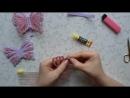 3 Д бабочки из фоамирана резиночки для принцесс от Ирины Зиминой