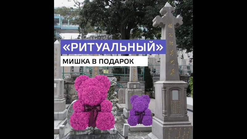 Мишка из роз — ритуальная игрушка? — Москва24