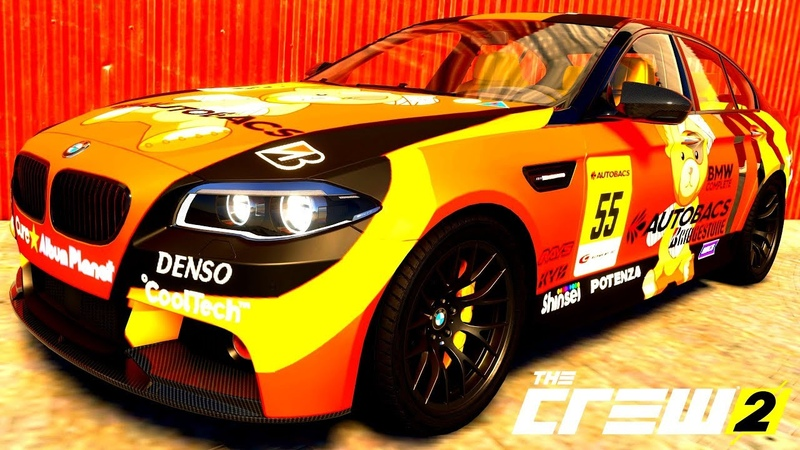 THE CREW 2 GOLD EDiTiON TUNiNG BMW M5 PART 488