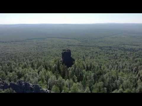 Гора КОЛПАКИ на границе Пермского края и Свердловской области