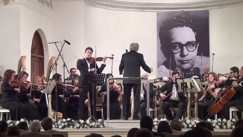Elvin Hoxha-Ganiyev violin: Kara Karayev violin concerto