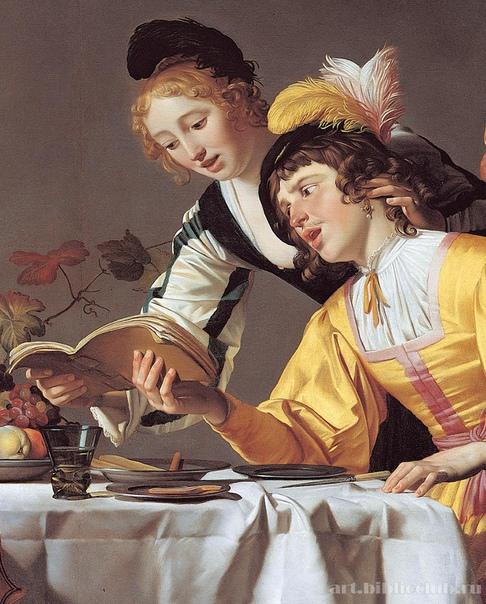 Геррит ван Хонтхорст (Gerrit van Honthorst, 4 ноября 1592-1656 )— нидерландский художник Золотого века; яркий представитель утрехтской школы.