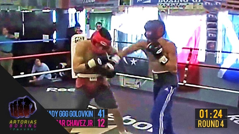 Gennady GGG Golovkin vs Julio Cesar Chavez Jr (Sparring Session Enhanced Footage Punch Count)