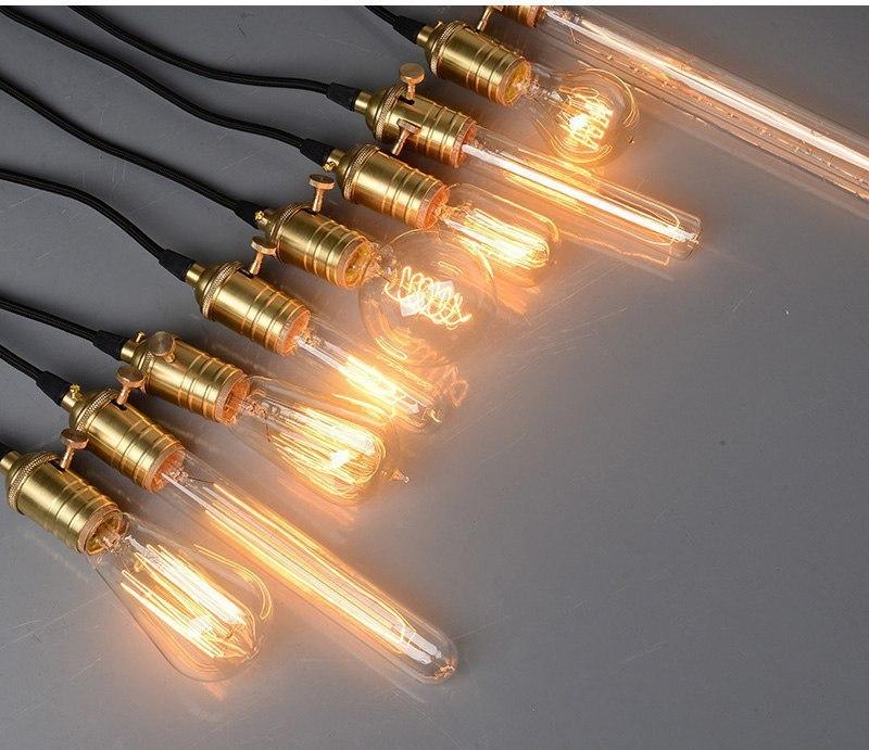 Ретро-лампочки и ретро-патроны для них
