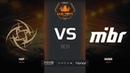 NiP vs MIBR, map 2 mirage, FACEIT Major London 2018