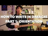 How to write in DAEAC#E for Math Rock, Emo, and Post Rock Orientation