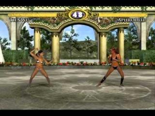Bikini Karate Babes 2: Warriors of Elysia, full game (easiest setting, 1 round fights).