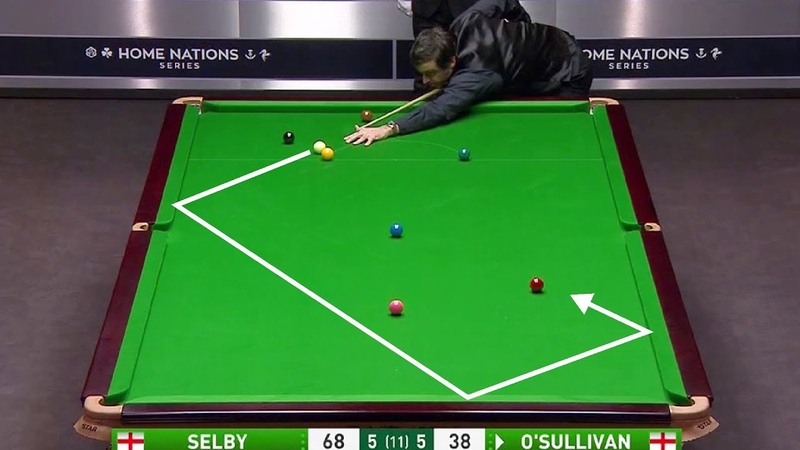 O'Sullivan v Selby Dramatic Black Ball Climax Fluke Of The Year