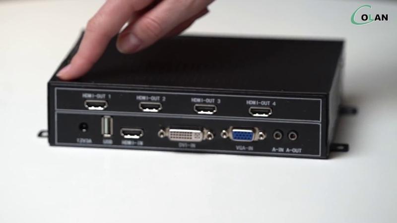 Контроллер для бюджетной видеостены 2х2 — MMS 0104WPBH