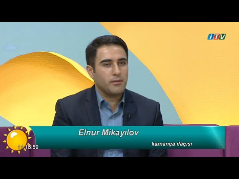 Elnur Mikayilov ITV De Kanada seferinden danisdi 05.11.2015 Dj R@main M.M