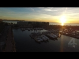 Аликанте - съемка с дрона квадрокоптера
