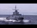Стрельбы корабельной ударной группы Балтийского флота из различных видов ствольной артиллерии