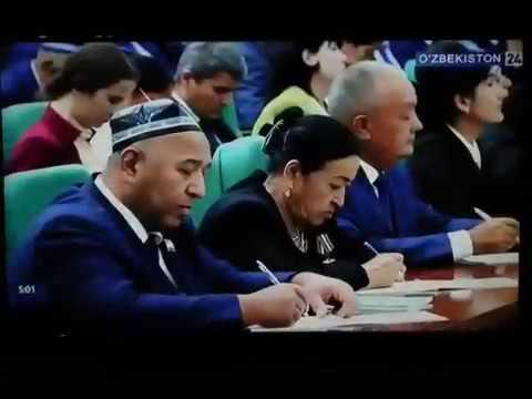 Сух хакида Шавкат Мирзийоев Гапирди июня 2018 г.