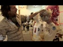 Behind the Scenes Julien d'Ys Creates Heads and Wigs for The Model as Muse