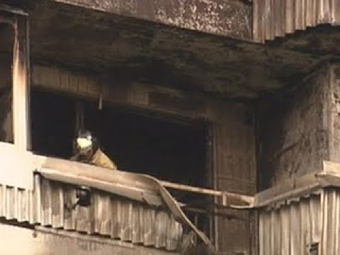На севере Москвы загорелась жилая многоэтажка, погиб 1 человек - Вести 24