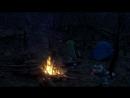 Поход в лес. Спали в мокрой палатке.