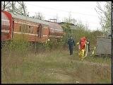 Утечка аммиака из железнодорожной цистерны на станции