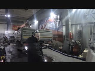 Стрела Unic URV504. Замена электромагнитного клапана КЭМ-10, опять вода...