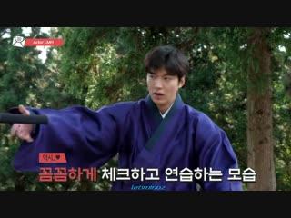 Lee Min Ho ..Dance with a sword ))