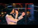 Голос 2 сезон - Гела Гуралиа и Полина Конкина - `Tell him` (18.10.2013)