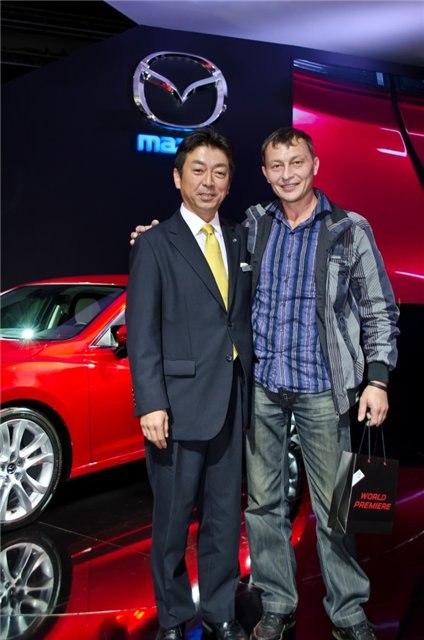 Мазда клуб Омск на мировой премьере новой Mazda 6 в Москве!