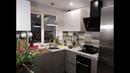 Малогабаритная кухня в Хрущёвке с мойкой у окна. Дизайн маленькой кухни. Дизайн маленькой кухни 5,4