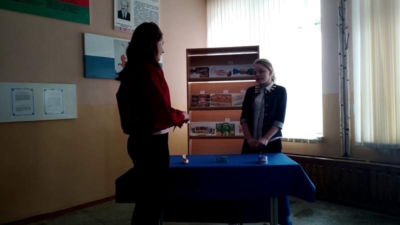 Новикова Дарья, Кибкова Валерия, Могилевская область, аг.Мишни