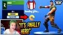 NINJA REACTS TO *NEW* GIFTING SYSTEM! (GIFT SKINS EMOTES) Fortnite FUNNY Moments