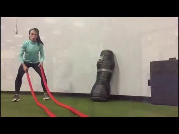 Joanna Jedrzejczyk Workout 27 06 18