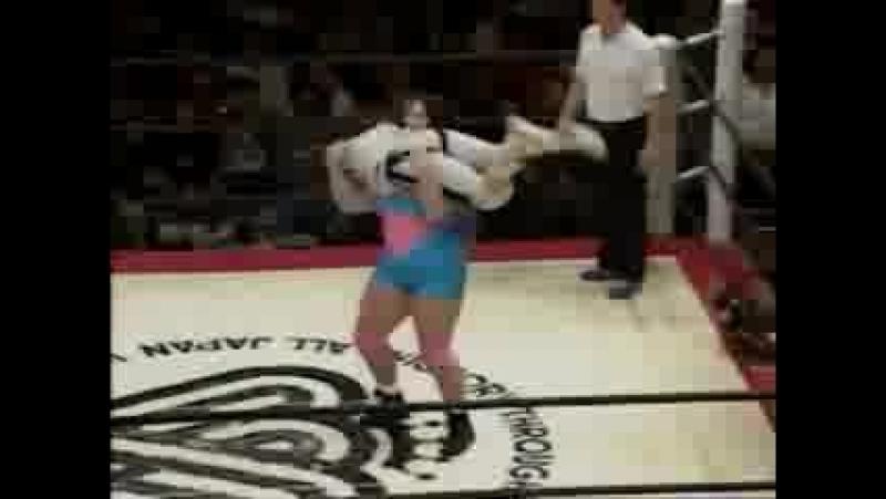 2. Bennett, Rie vs. Maekawa, ASARI (2.26.95)