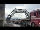Транспотрировка Либхер 125 тонн